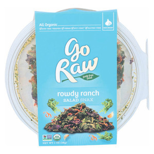 Go Raw Salad Snax - Rowdy Ranch - Case of 6 - 1 oz.
