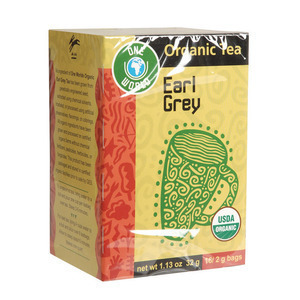 One World Organic Black Tea - Earl Grey - Case of 6 - 16 Bags