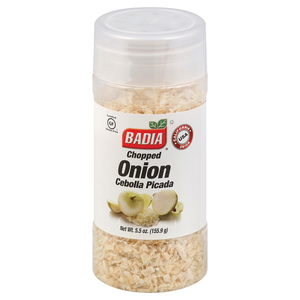 Badia Spices Chopped Onion - Case of 12 - 5.5 oz.
