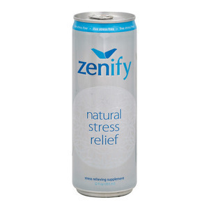 Zenify Stress Relief - Natural - Case of 12 - 12 Fl oz.