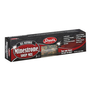 Streit's Soup Mix - Minestrone - Case of 12 - 6 oz.