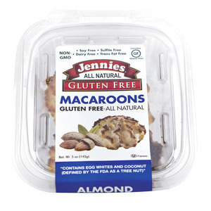 Jennie's Almond Mini Gluten - Almond - Case of 12 - 5 oz.