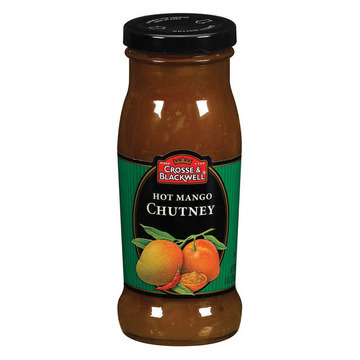 Crosse and Blackwell Chutney - Hot Mango - Case of 6 - 9 oz.