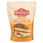 Arrowhead Mills Vanilla Cake - Mix - Case of 6 - 18.2 oz.