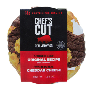 Smoked Beef Original Recipe & Cheddar Cheese Snack Pack