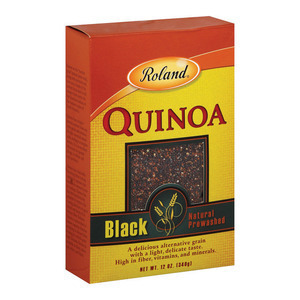 Roland Black Quinoa - Case of 12 - 12 oz.
