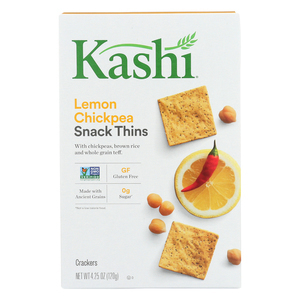 Kashi Teff Thins - Lemon Chickpea Chili - Case of 6 - 4.25 oz.
