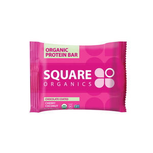 Square Organics Protein Bar - Cocoa Cherry - Case of 12 - 1.7 oz.