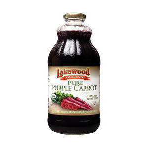 Lakewood Pure Carrot Juice - Carrot - Case of 12 - 32 Fl oz.