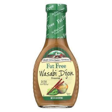 Maple Grove Farms - Fat Free Salad Dressing - Wasabi Dijon - Case of 12 - 8 oz.