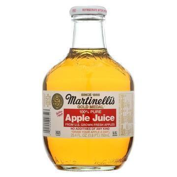 Martinelli's Apple Juice - Case of 12 - 25.4 Fl oz.