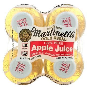 Martinelli's Apple Juice - Case of 6 - 10 Fl oz.