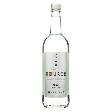 Llanllyr Source Water Sparkling Water - Glass - Case of 12 - 25.4 fl oz