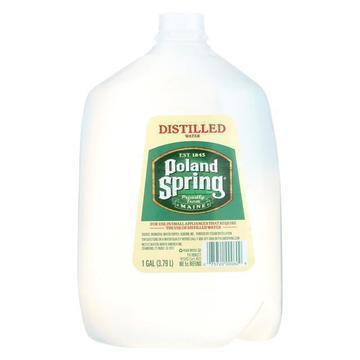 Poland Spring Water - Distilled - Case of 6 - 1 Gal