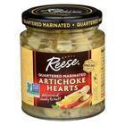 Reese Marinated Artichoke Hearts - Quartered - Case of 12 - 7.5 oz.