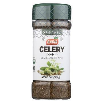 Badia Spices - Organic Celery Seed - Case of 12 - 2 oz.