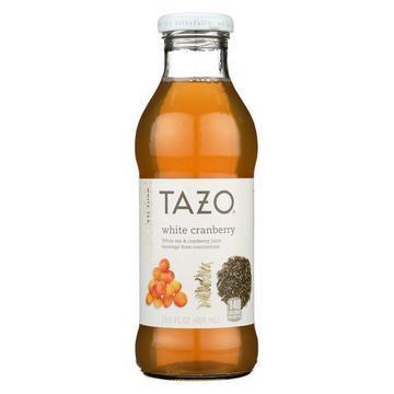 Tazo Tea Iced White Tea - White Cranberry - Case of 12 - 13.8 fl oz