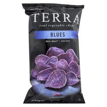Terra Chips Exotic Vegetable Chips - Blues - Case of 12 - 5 oz.
