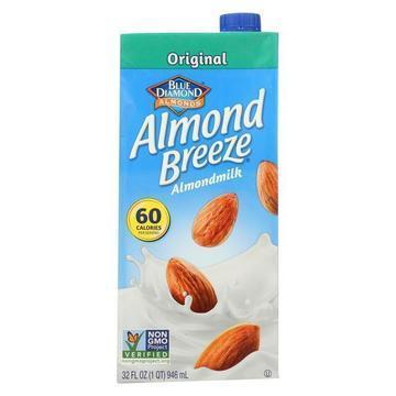 Almond Breeze - Almond Milk - Original - Case of 12 - 32 fl oz.
