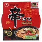 Nong Shim Noodle Soup Bowl - Shin - Case of 12 - 3.03 oz.