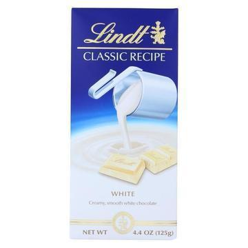 Lindt - Bar Classic Wht Chocolate - Case of 12-4.4 oz