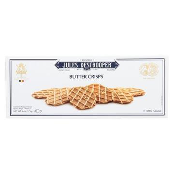 Jules Destrooper Cookies - Butter Wafers - Case of 12 - 6.1 oz.