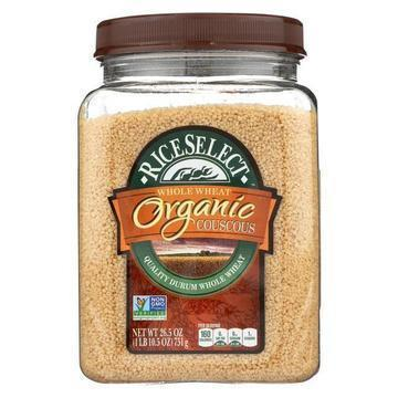 Rice Select Whole Wheat Couscous - Organic - Case of 4 - 26.5 oz.