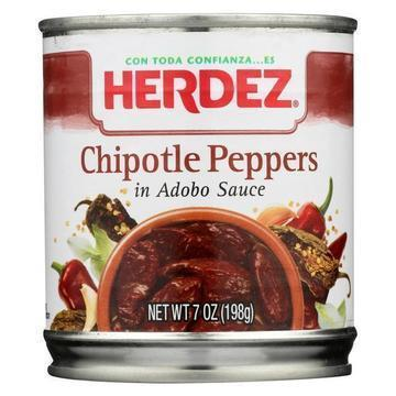 Herdez Peppers - Chilpotle - Case of 12 - 7 oz.
