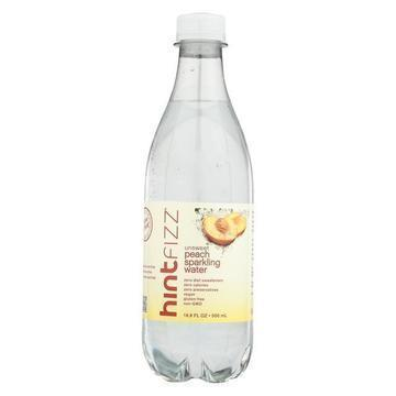 Hint Water - Fizz - Peach - Unswtnd - Case of 12 - 16.9 fl oz