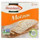 Manischewitz - Matzos Crackers - Unsalted - Case of 12 - 10 oz.