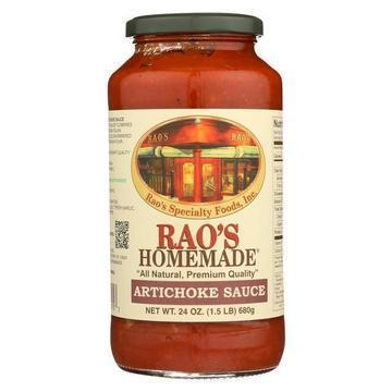 Rao's Specialty Food Sauce - Artichoke - Case of 12 - 24 oz