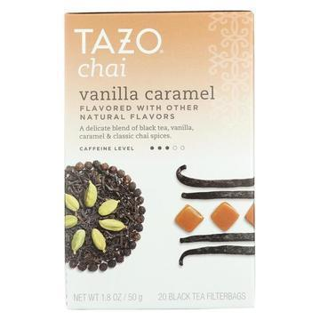 Tazo Tea Tea - Vanilla Caramel Chai - Case of 6 - 20 BAG