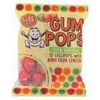 Glee Gum Pops - Assorted Flavors - Case of 6 - 10 Count
