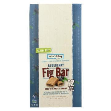 Nature's Bakery Gluten Free Fig Bar - Blueberry - Case of 12 - 2 oz.