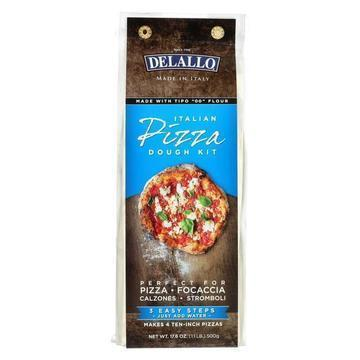 Delallo - Kit - Pizza Dough - Case of 10 - 17.6 oz