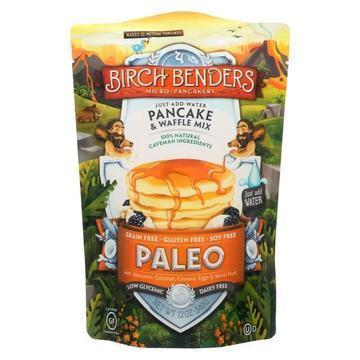 Birch Benders - Pancake and Waffle Mix - Paleo - Case of 6 - 12 oz