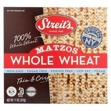 Streit's Matzo Meal - Whole Wheat - Case of 12 - 11 oz.