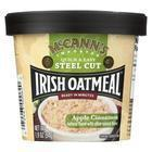 Mccann's Irish Oatmeal Instant Oatmeal Cup - Apple Cinnamon - Case of 12 - 1.9 oz
