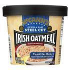 Mccann's Irish Oatmeal Instant Oatmeal Cup - Vanilla Honey - Case of 12 - 1.9 oz