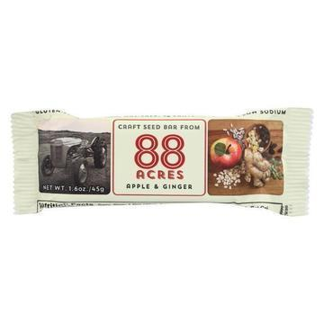 88 Acres - Bars - Apple and Ginger - Case of 9 - 1.6 oz.