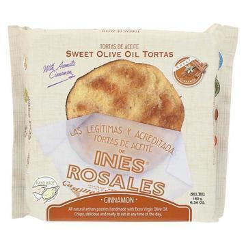 Ines Rosales Tortas - Cinnamon Sweet Olive Oil - Case of 10 - 6.3 oz