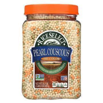 Rice Select Couscous - Pearl - Tri-Color - Case of 4 - 24.5 oz