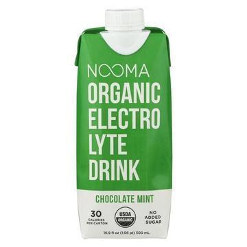 Nooma Electrolite Drink - Organic - Chocolate Mint - Case of 12 - 16.9 fl oz