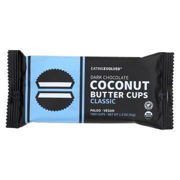 Eating Evolved Coconut Butter Cups - Classic - Case of 9 - 1.5 oz.