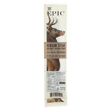 Epic Strips - Venison Steak - Case of 20 - .8 oz