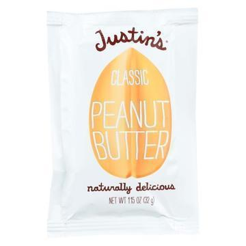 Justin's Nut Butter Squeeze Pack - Peanut Butter - Classic - Case of 10 - 1.15 oz.