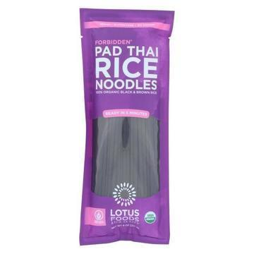 Lotus Foods Noodles - Organic - Forbidden Pad Thai - Case of 8 - 8 oz