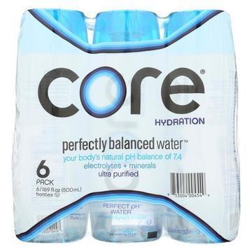 Core Hydration Water - Perfectly Balanced - Case of 4 - 6/16.9 Z