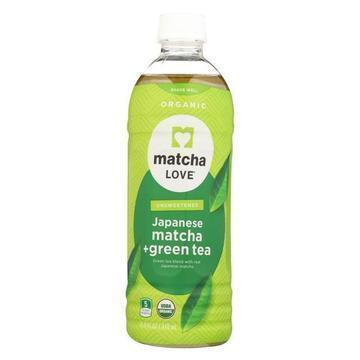 Matcha Love Drnk - Organic - Matcha Green Tea - Case of 12 - 15.9 fl oz