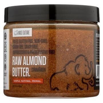 Base Culture -Almond Butter - Cinnamon - Case of 6 - 16 oz.